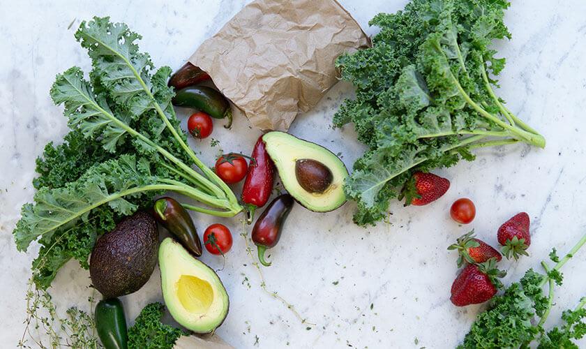 Organic beauty healthy living
